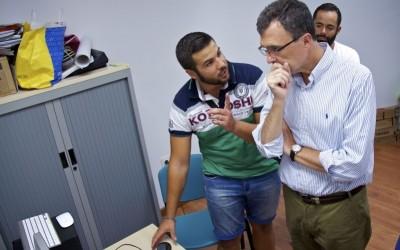El Alcalde de Murcia visita el proyecto URBAN y MediaLab ES